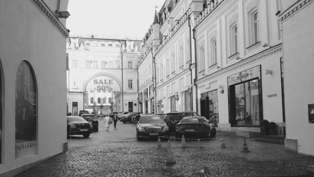 Einkaufen in Moskau
